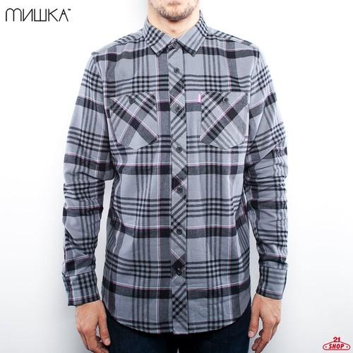 купить Рубашка MISHKA Whistler Flannel (Black-Lunar, S) по цене 960 рублей