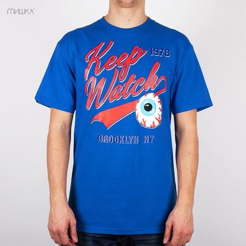 Футболка MISHKA Bleacher Seats T-Shirt (Royal, XL) цена