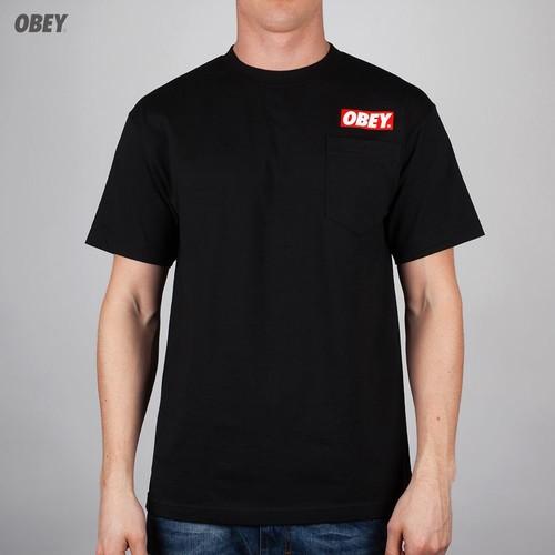 Футболка OBEY Bar Logo (Black, L) 44 bar
