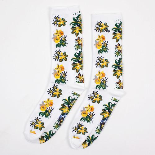 Носки OBEY Tourist Socks (White, O/S)