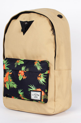 Рюкзак CAYLER & SONS Hawaii Downtown Backpack (Sand-Black-Hawaii-Black-Hawaii)