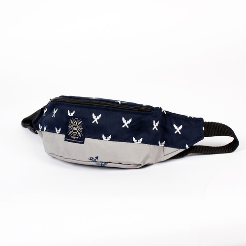 Сумка TURBOKOLOR Hip-Bag SS14 (Navy-Grey-Torch-Print)
