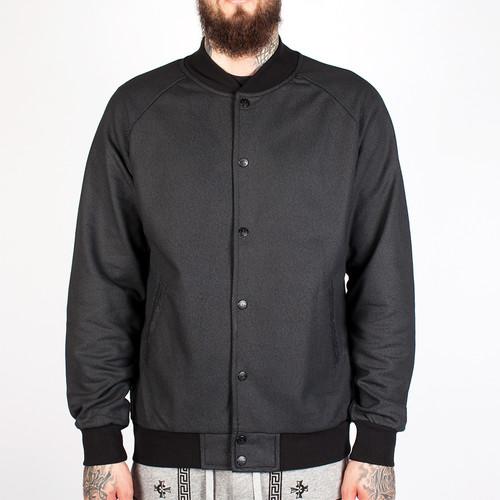 Куртка CROOKS & CASTLES Lavish Baseball Jacket (Black, L) цена 2017
