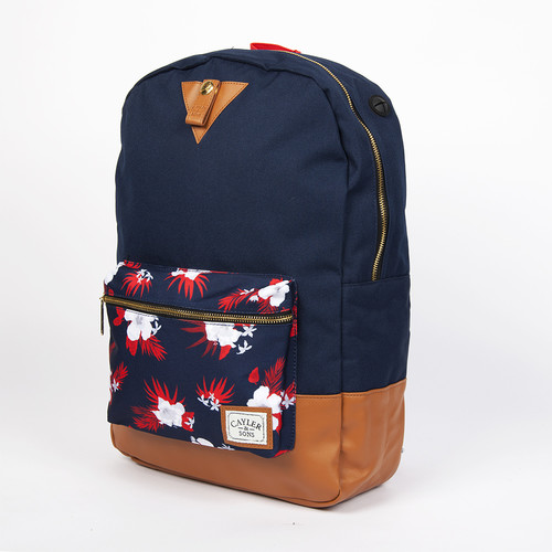 Рюкзак CAYLER & SONS Team Haters Uptown Backpack (Navy-Mc-Navy-Cognac) рюкзак skills small backpack black navy
