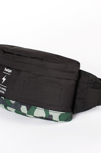 Сумка TRUESPIN Seals Waist Bag (Black-Camo)