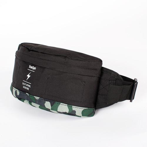 Сумка TRUESPIN Seals Waist Bag (Black-Camo) шапка truespin abc fw15 black black w