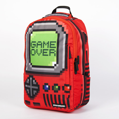 Рюкзак SPRAYGROUND Pixel Game Over Backpack (B271-Red)