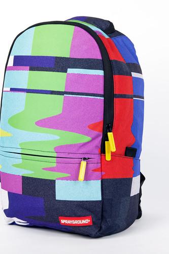 цена Рюкзак SPRAYGROUND Static Fuzz Backpack (B195-Multicolor) онлайн в 2017 году
