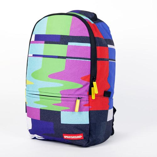 Рюкзак SPRAYGROUND Static Fuzz Backpack (B195-Multicolor) рюкзак sprayground $tashed jewels waxed cotton backpack bu011j black
