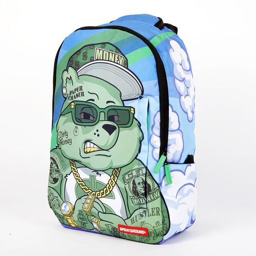 цена Рюкзак SPRAYGROUND Money Bear Backpack (B183-Multicolor) онлайн в 2017 году