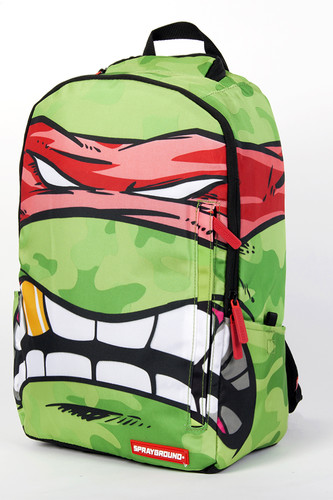 цена на Рюкзак SPRAYGROUND Teenage Mutant Ninja Grillz Backpack (B190D Rafael-Red)