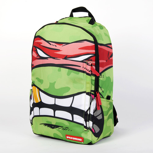 Рюкзак SPRAYGROUND Teenage Mutant Ninja Grillz Backpack (B190D Rafael-Red) rafael