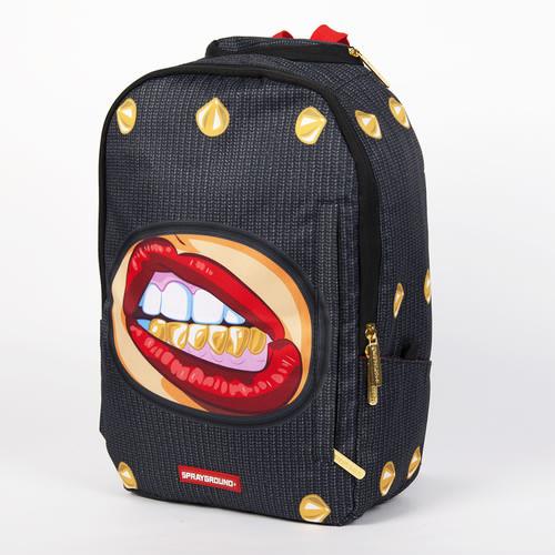 Рюкзак SPRAYGROUND Ski Mask Grillz Backpack (B187-Multicolor) рюкзак sprayground $tashed jewels waxed cotton backpack bu011j black