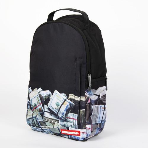 цена Рюкзак SPRAYGROUND Money Rolled Backpack (B186-Multicolor) онлайн в 2017 году