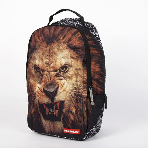 цена Рюкзак SPRAYGROUND Lion Backpack (B178-Multicolor) онлайн в 2017 году