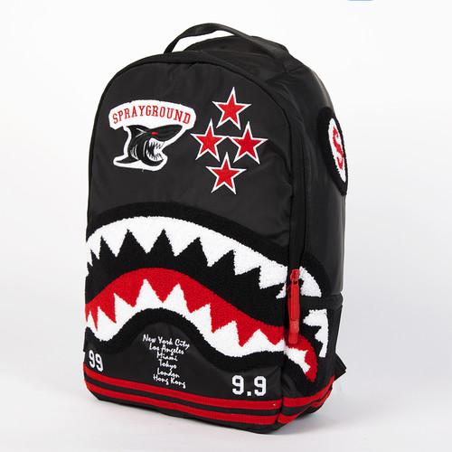 Рюкзак SPRAYGROUND Varsity Shark Backpack (B213-Multicolor) рюкзак sprayground camo clouds backpack b293 multicolor
