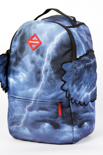цена Рюкзак SPRAYGROUND Zeus Backpack Wing (B227-Multicolor) онлайн в 2017 году