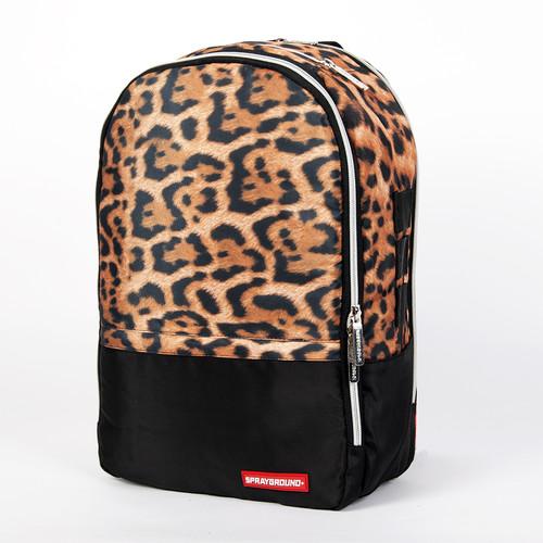 Рюкзак SPRAYGROUND $tashed Money Leopard Polyester Backpack (BU012-Multicolor) рюкзак sprayground camo clouds backpack b293 multicolor