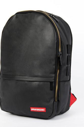 Рюкзак SPRAYGROUND $tashed Jewels Waxed Cotton Backpack (BU011J-Black)