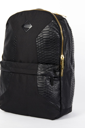 Рюкзак SPRAYGROUND Cut & Sew Faux Crocodile Backpack (B244-Black)