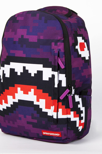 Рюкзак SPRAYGROUND Pixel Shark Backpack (B188-Multicolor)