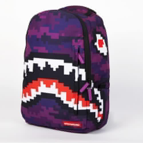 Рюкзак SPRAYGROUND Pixel Shark Backpack (B188-Multicolor) рюкзак sprayground camo clouds backpack b293 multicolor