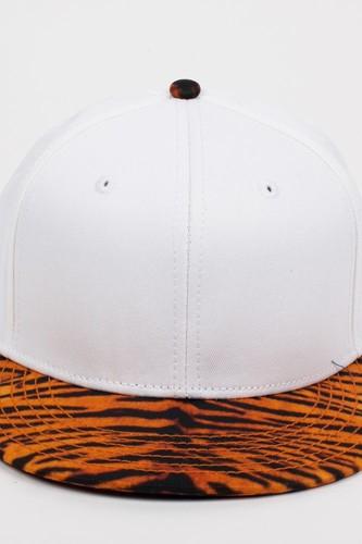 Бейсболка CAYLER & SONS Tyga 2-Tone (White-Tiger, O/S)