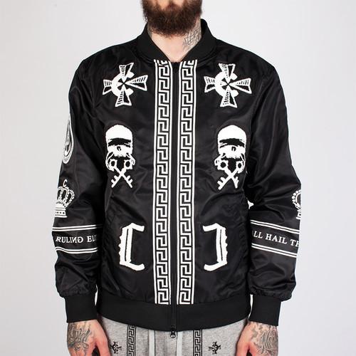 Куртка CROOKS & CASTLES Black Order Bomber Jacket (Black, XL) куртка crooks