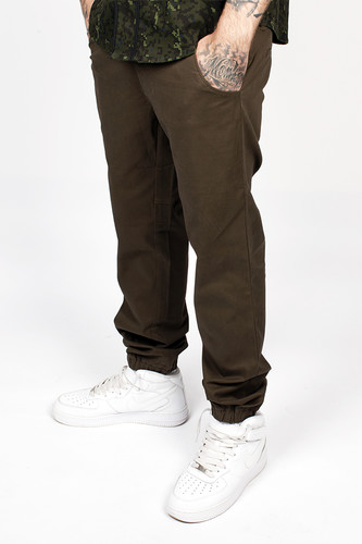 Брюки CROOKS & CASTLES Infantry Sport Pant (Military, 36)