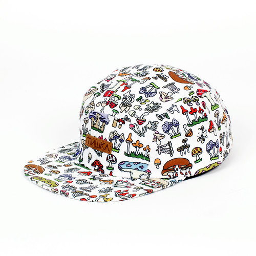 Бейсболка MISHKA Boomers 5 Panel (White, O/S) бейсболка mishka chaifned 5 panel black o s