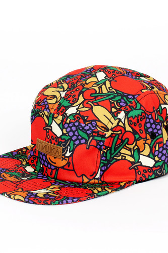 Бейсболка MISHKA Hard Candy 5 Panel (Red, O/S)