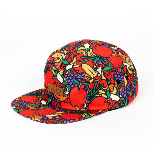 Бейсболка MISHKA Hard Candy 5 Panel (Red, O/S) бейсболка mishka chaifned 5 panel black o s