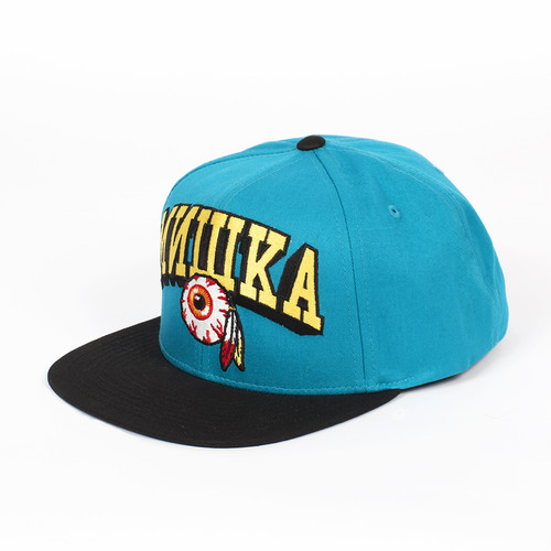 Бейсболка MISHKA Varsity Keep Watch Snapback (Teal, O/S) бейсболка mishka keep watch tie dye new era snapback lime blue tie dye o s