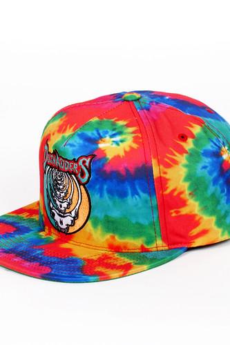 Бейсболка MISHKA Steal Your Soul Tie Dye Snapback (Rainbow Dye, O/S)