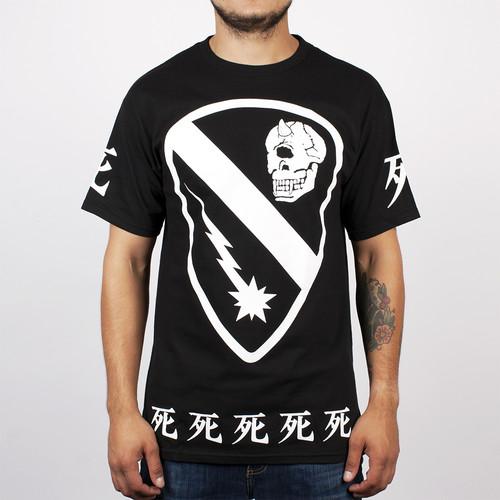 Футболка MISHKA Cyco Cavalry SS Tee (Black, XL) футболка mishka paralyzed tee black m