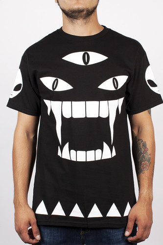 Футболка MISHKA Alien Kill With Power SS Tee (Black, XL) men ombre tee with drawstring shorts