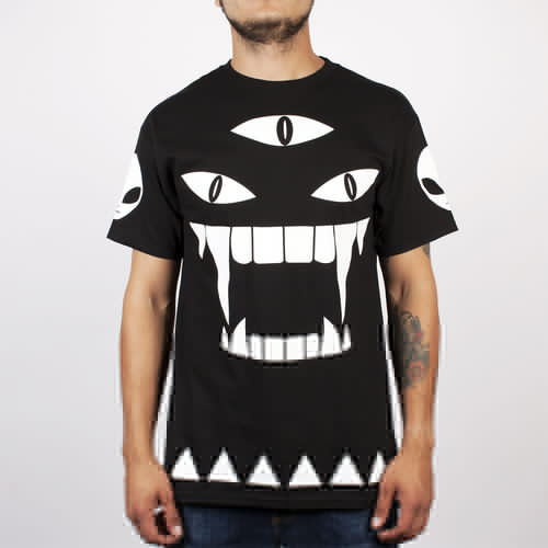 Футболка MISHKA Alien Kill With Power SS Tee (Black, XL) бейсболка mishka kill with power ne 5950 black 7 3 8