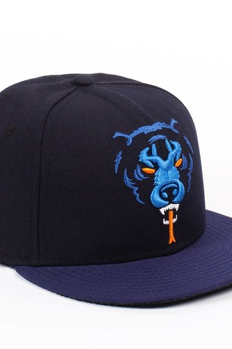 Бейсболка MISHKA Oversize Adder New Era (Navy, 7 1/2)