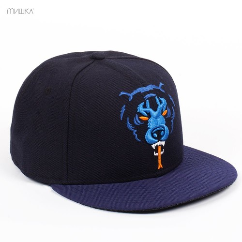Бейсболка MISHKA Oversize Adder New Era (Navy, 7 1/2) бейсболка mishka kill with power ne 5950 black 7 3 8