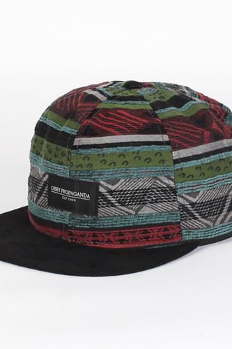 цена на Бейсболка OBEY Loukkos Hat (Grey, O/S)