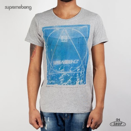 Футболка SUPREMEBEING SBST Analogue (Heather, L) футболка supremebeing cell burgundy 8968 l