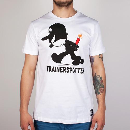 купить Футболка TRAINERSPOTTER Felix Dynamite (White, L) по цене 477 рублей