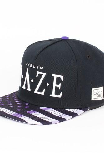 Бейсболка CAYLER & SONS Harlem Haze Cap (Black/Purple/White, O/S) майка cayler