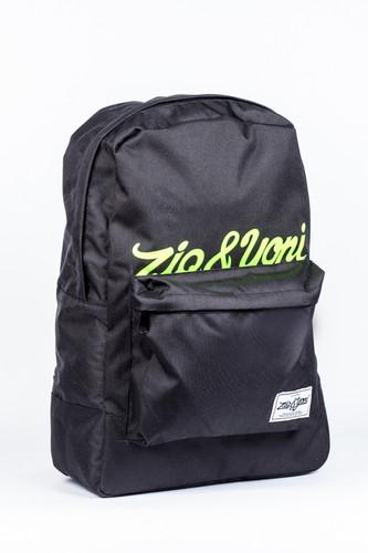 Рюкзак ZIQ & YONI Half Logo (Black)