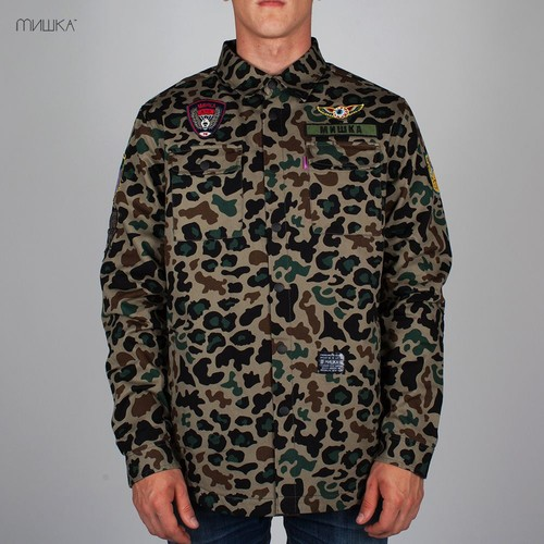 Куртка MISHKA Patterson (Camo, S) цена