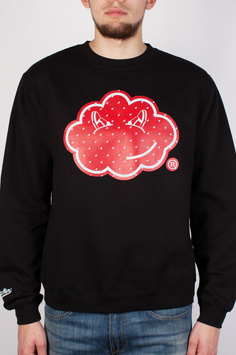 Толстовка CLOUD CICKER Rain Crew (Black, M)
