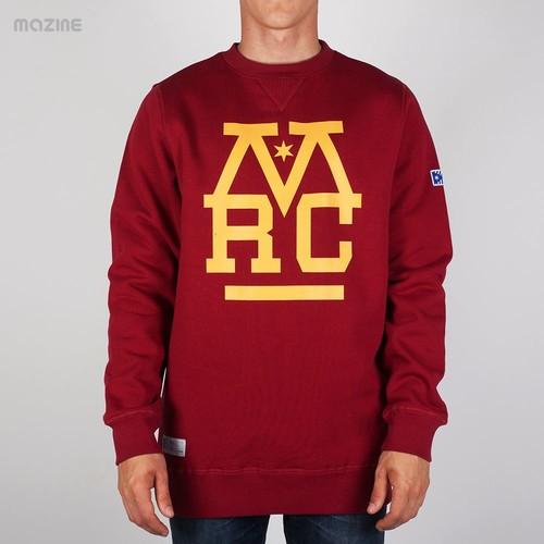 все цены на Толстовка MAZINE Mrc Crew Sweater (Bordeaux, 2XL) онлайн