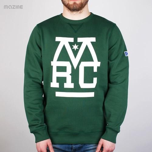 Толстовка MAZINE Mrc Sweater (Pineneedle, S) толстовка mazine we are the crew sweater navy l