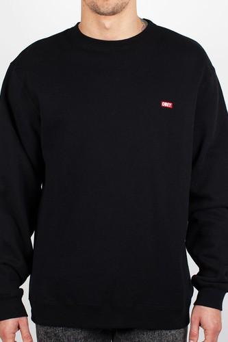 цена на Толстовка OBEY Bar Logo Crew (Black, XL)