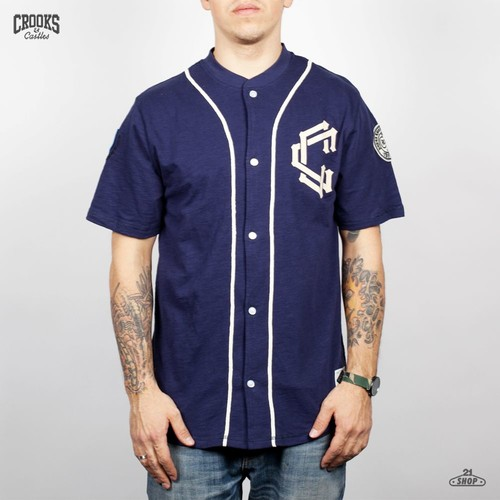 Футболка CROOKS & CASTLES I1260103 (Dark-Navy, S) футболка crooks